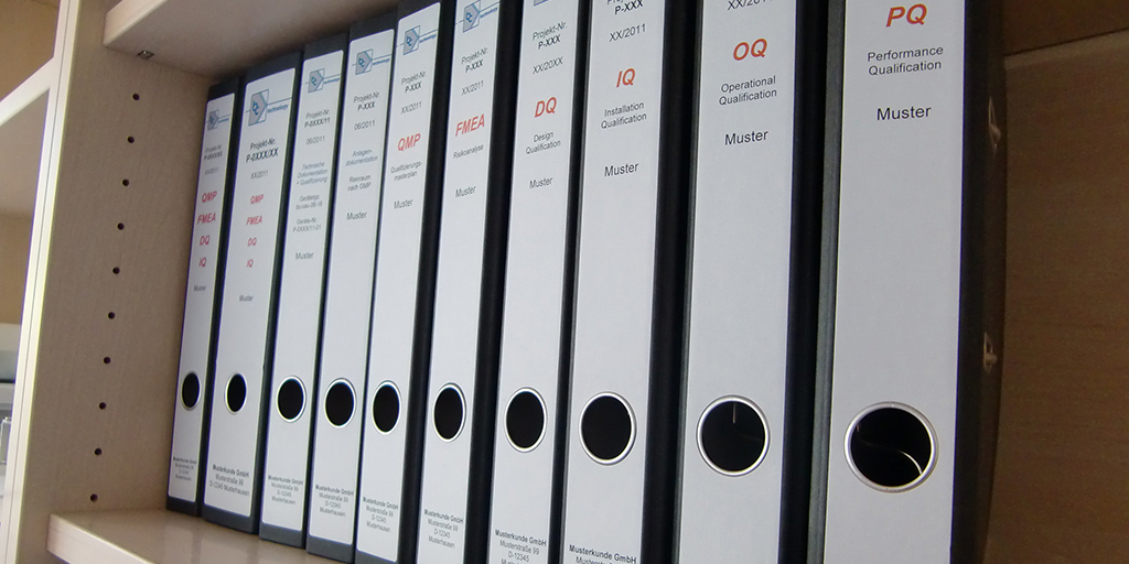 Reinraum Dokumentation nach ISO oder GMP