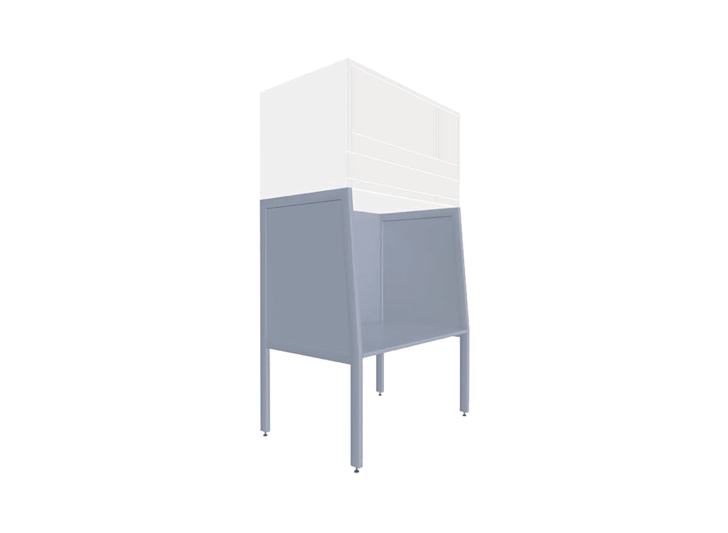 A-Gestell für Reinraummodul Typ: bc-us-vu
