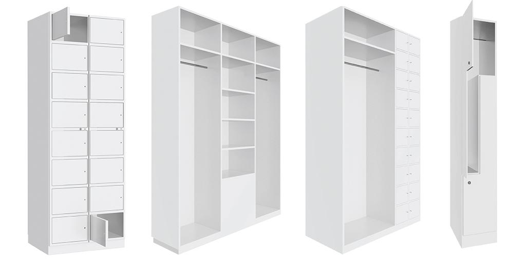 Schränke und Garderoben für Reinräume und Reinraumschleusen